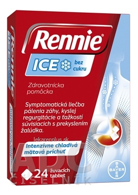 Rennie ICE bez cukru tbl mnd 1x24 ks