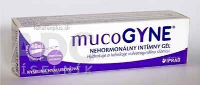 mucoGYNE nehormonálny intímny gél 1x40 ml