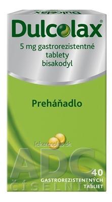 Dulcolax tbl ent 5 mg (blis.) 1x40 ks