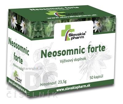 Slovakiapharm Neosomnic forte cps 1x50 ks