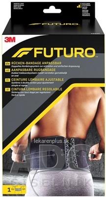 3M FUTURO Bedrový nastaviteľný pás [SelP] stabilizačná opora na chrbát (46820) 1x1 ks