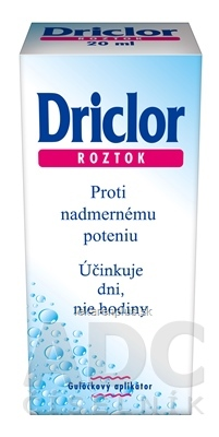 Driclor Antiperspirant gulička roztok (inov. 2021) 1x20 ml
