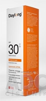 Daylong Protect&care SPF 30 lócio (mlieko na opaľovanie) 1x100 ml