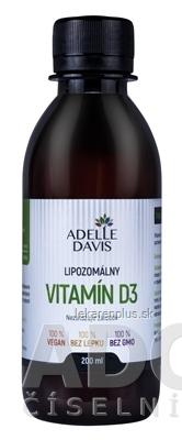 ADELLE DAVIS Lipozomálny VITAMÍN D3 1x200 ml