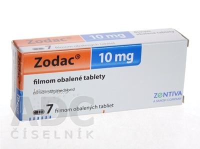 Zodac tbl flm 10 mg (blis. PVC/Al) 1x7 ks