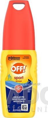 OFF! Sport rozprašovač repelent 1x100 ml