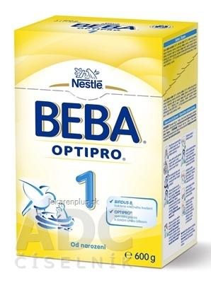 BEBA OPTIPRO 1 počiatočná výživa dojčiat (od narodenia) 1x600 g
