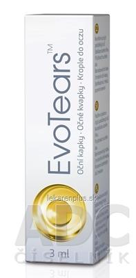 EvoTears očné kvapky 1x3 ml