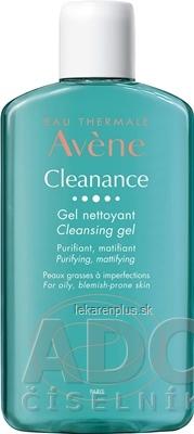 AVENE CLEANANCE GEL NETTOYANT (inov. 2020) čistiaci gél bez mydla, mastná pleť 1x200 ml