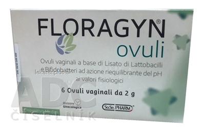 FLORAGYN vaginálne čapíky 1x6 ks