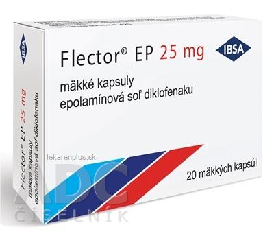 Flector EP 25 mg cps mol (blis.PVC/PE/PVDC/Al) 1x20 ks