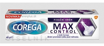 COREGA MAX CONTROL fixačný krém 1x40 g