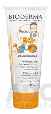 BIODERMA Photoderm KID SPF50+ (AKCIA) mlieko na opaľovanie 1x100 ml