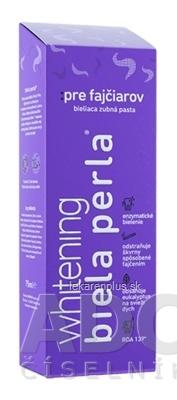 Biela perla Pre fajčiarov zubná pasta 1x75 ml