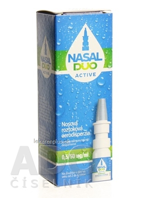 NASAL DUO ACTIVE 0,5/50 mg/ml aer nao 90 dávok (fľ. s mech.rozpraš.) 1x10 ml
