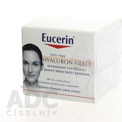 Eucerin HYALURON-FILLER denný krém proti vráskam intenzívny vyplňujúci krém pre suchú pleť 1x50 ml