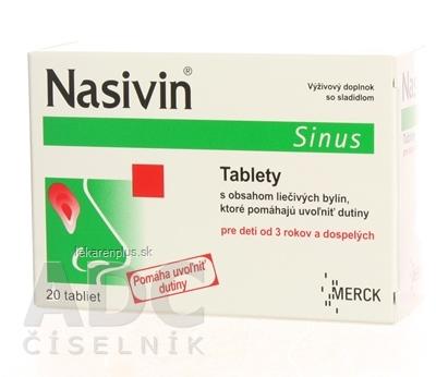 NASIVIN SINUS tbl 1x20 ks