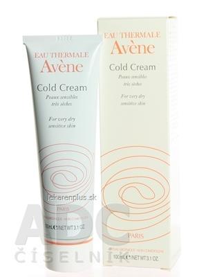 AVENE COLD CREAM krém na veľmi suchú citlivú pokožku 1x100 ml