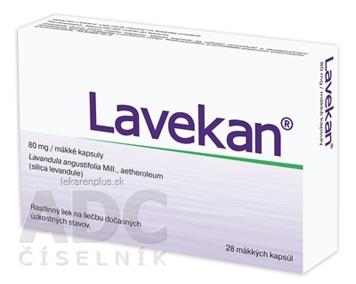 Lavekan cps mol 80 mg (blis.PVC/PVDC/Al) 1x28 ks