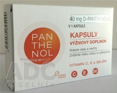 omega PANTHENOL 40 mg cps 1x60 ks