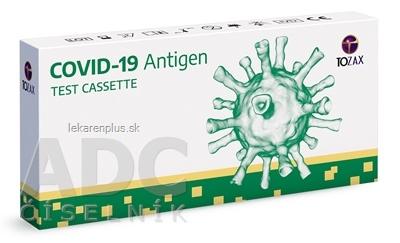TOZAX Covid-19 antigen test cassette test na detekciu antigénu (z prednej časti nosa), 1x1 set