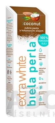 Biela perla Ccoconut zubná pasta 1x75 ml