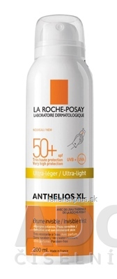 LA ROCHE-POSAY ANTHELIOS XL Invisible mist SPF50+ telový sprej 1x200 ml