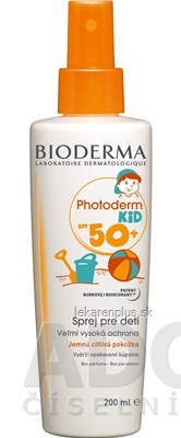 BIODERMA Photoderm KID SPF 50+ sprej (inov. 2019) 1x200 ml