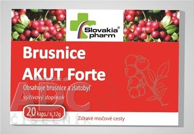Slovakiapharm Brusnice AKUT Forte cps 1x20 ks