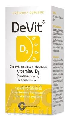 DeVit kvapky 1x22 ml
