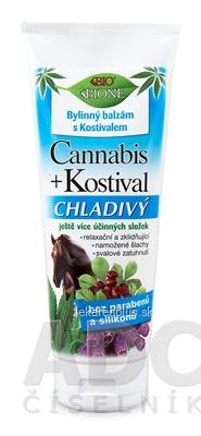 BC BIO Cannabis + Kostihoj konský balzam Chladivý 1x200 ml