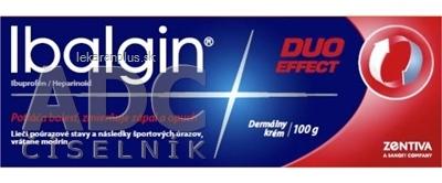 Ibalgin DUO EFFECT crm der (tuba Al) 1x100 g