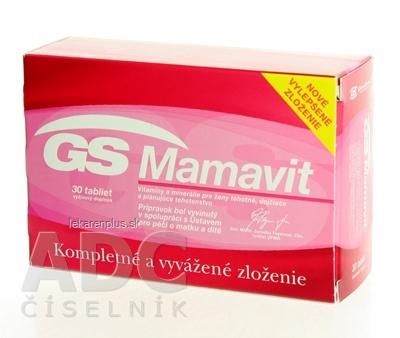 GS Mamavit tbl 1x30 ks