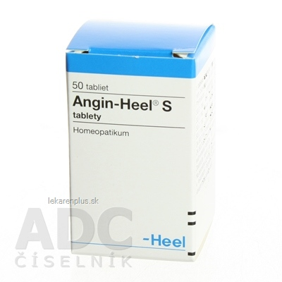 Angin-Heel S tbl 1x50 ks