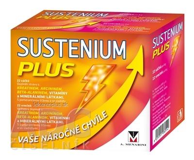 SUSTENIUM PLUS vrecúška 1x22 ks