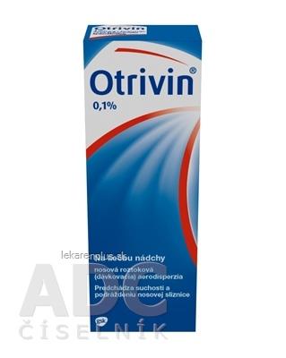 Otrivin 0,1 % aer nao (fľ.HDPE s dávkovačom) 1x10 ml