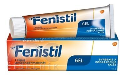 Fenistil 1 mg/g gél gel der (tuba Al) 1x50 g