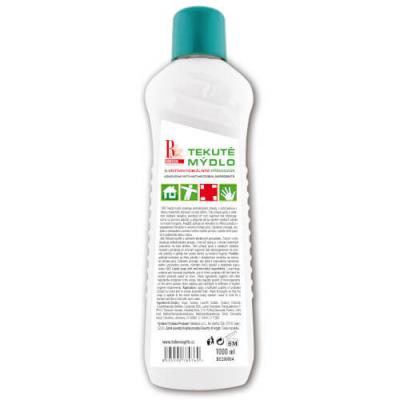 Tekuté mydlo s antibakteriálnymi a dezinfekčnými prísadami 1000 ml