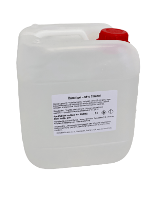 Dezinfekčný antibakteriálny gél na ruky 5l  + dávkovač ako darček