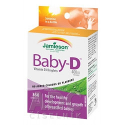 JAMIESON BABY-D VITAMÍN D KVAPKY 1x11,7 ml