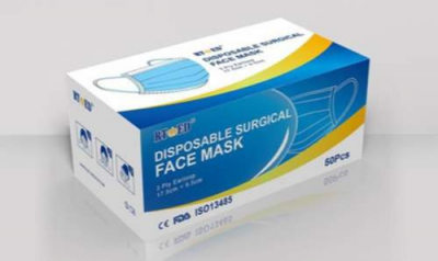 ochranné rúška ( maska ) 3-vrstvové jednorázové – 100ks