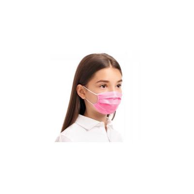 Rúška detské jednorázové  ružové 10ks
