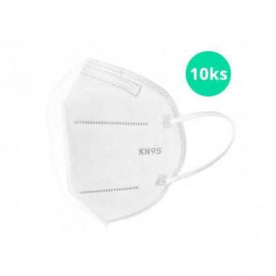 Respirátor Maska  KN 95 FFP2 10 ks originál balenie s certifikátom