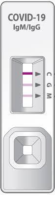 Rýchlotest na koronavírus C-19  test na protilátky z krvi 10 testov