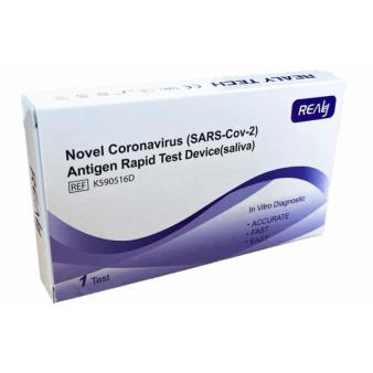 Realy Tech Antigenový COVID-19 test zo slín 1 test