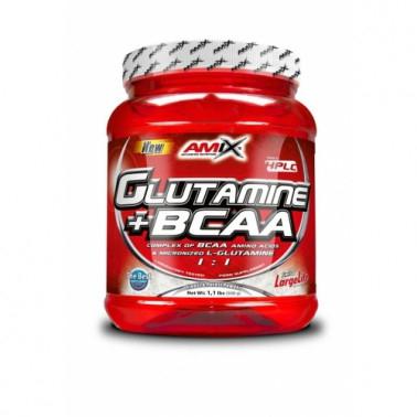 AMIX NUTRITION L-Glutamine + BCAA 530g.