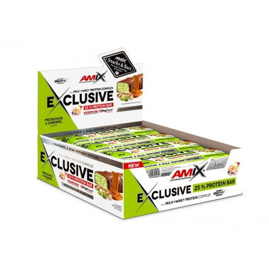 AMIX NUTRITION Exclusive Protein bar 85g. 1ks
