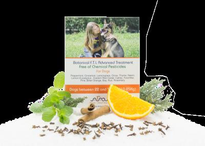 Arava bylinné antiparazitné pipety pre psov od 10 až 25 kg 4x6ml