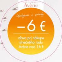 AVENE ZLAVA 6 EUR